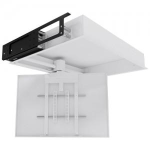 Motorisation ecran solutions sur mesure encastrement - Support tv motorise plafond ...